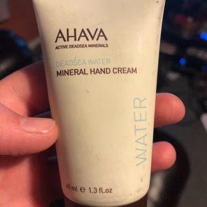 Ahava lotion